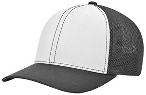 (ALTERN.) WHITE FRONT PANEL/BLACK VISOR & SIDE