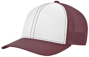 (ALTERN.) WHITE FRONT PANEL/MAROON VISOR & SIDE