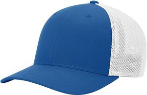 (STAND.) ROYAL CROWN & VISOR/WHITE BACK