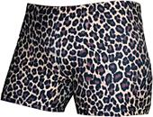 Gem Gear Compression Brown Leopard Print Shorts