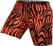 "Gem Gear Orange Zebra Softball Slider 5"" Inseam"