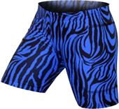 "Gem Gear Royal Zebra Softball Slider 5"" Inseam"