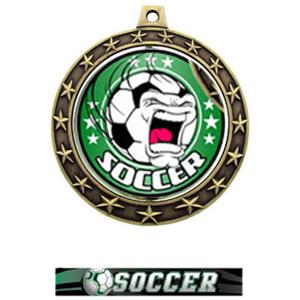FIERCE INSERT/GOLD MEDAL-ULTIMATE SOCCER RIBBON