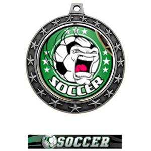 FIERCE INSERT/SILVER MEDAL-ULTIMATE SOCCER RIBBON