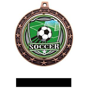 SHIELD INSERT/BRONZE MEDAL-BLACK RIBBON