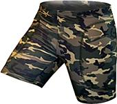"Gem Gear Camouflage Softball Slider 5"" Inseam"