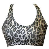 Fit 2 Win Annabelle Leopard Sports Bra
