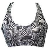 Fit 2 Win Annabelle Zebra Sports Bra