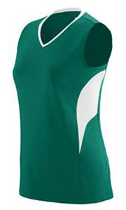 DARK GREEN/ WHITE