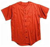 Martin Full Button Baseball Jerseys