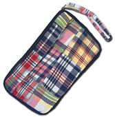 Fit 2 Win Madras Loop Wristlet Bag - ML