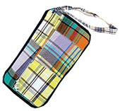 Fit 2 Win Madras Loop Wristlet Bag - MT