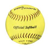 "Martin Sports Official 11""/12"" Yellow Softballs"