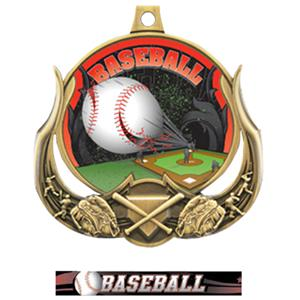 GOLD MEDAL / ULTIMATE BASEBALL RIBBON