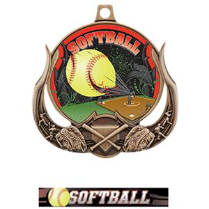 BRONZE MEDAL/ULTIMATE SOFTBALL RIBBON