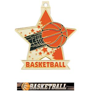 GOLD MEDAL/ULTIMATE BASKETBALL RIBBON