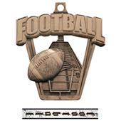 Football 3-D Pro Sport Medal M-712F