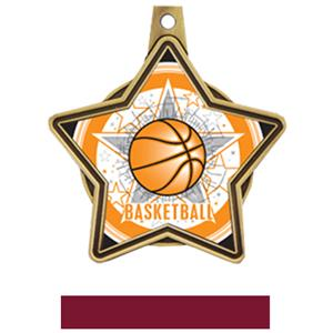 GOLD MEDAL / MAROON RIBBON