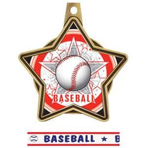 GOLD MEDAL / AMERICANA BASEBALL RIBBON