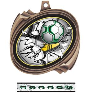 BRONZE MEDAL INTENSE RIBBON