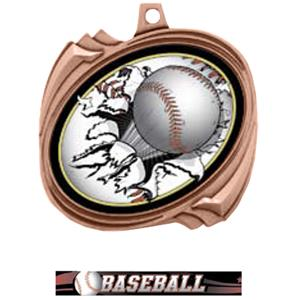 BRONZE MEDAL / ULTIMATE BASEBALL RIBBON