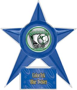 BLUE STAR/BLUE TWISTER LABEL - PROSPORT MYLAR