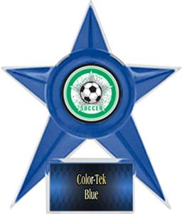 BLUE STAR/BLUE TEK LABEL - ALL-STAR MYLAR