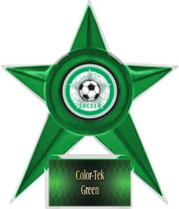 GREEN STAR/GREEN TEK LABEL - ALL-STAR MYLAR