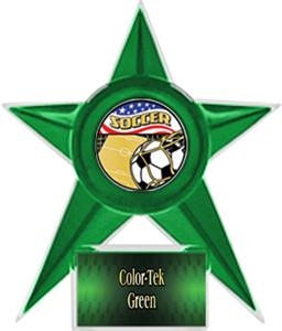 GREEN STAR/GREEN TEK LABEL-AMERICANA MYLAR