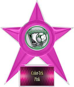 PINK STAR/PINK TEK LABEL - PROSPORT MYLAR