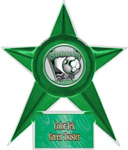 GREEN STAR/GRN TWISTER LABEL - PROSPORT MYLAR