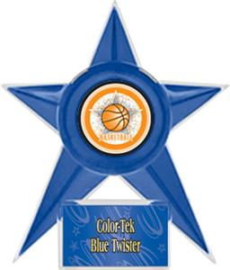 BLUE STAR/BLUE TWISTER LABEL - ALL-STAR MYLAR