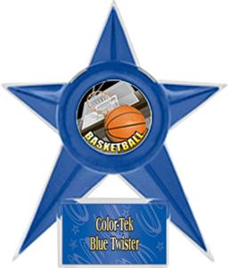 BLUE STAR/BLUE TWISTER LABEL - HD MYLAR