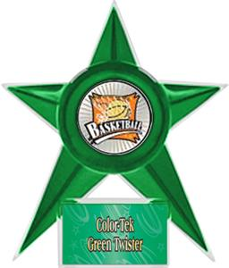 GREEN STAR/GREEN TWISTER LABEL - XTREME MYLAR