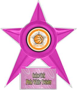 PINK STAR/PINK TWISTER LABEL - ALL-STAR MYLAR