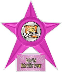 PINK STAR/PINK TWISTER LABEL - XTREME MYLAR