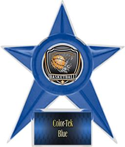 BLUE STAR/BLUE TEK LABEL - SHIELD MYLAR