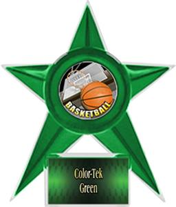 GREEN STAR/GREEN TEK LABEL - HD MYLAR
