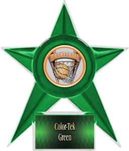 GREEN STAR/GREEN TEK LABEL - PROSPORT MYLAR