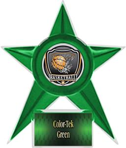 GREEN STAR/GREEN TEK LABEL - SHIELD MYLAR