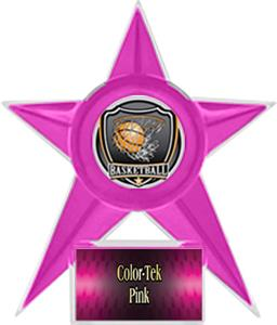 PINK STAR/PINK TEK LABEL - SHIELD MYLAR