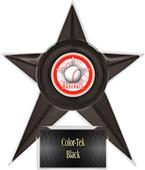 "Hasty Awards Baseball Stellar Ice 7"" Trophy"