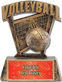 """Hasty Awards ProSport 6"""" Volleyball Resin Trophies"""