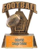 "Hasty Awards ProSport 6"" Football Resin Trophies"