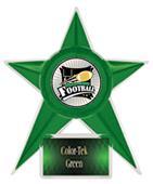 "Hasty Awards Football Stellar Ice 7"" Trophy"