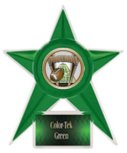 GREEN TROPHY/GREEN TEK LABEL - PROSPORT FOOTBALL M