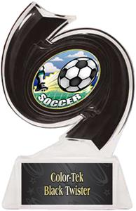 BLACK TROPHY/BLACK TWISTER LABEL/HD MYLAR