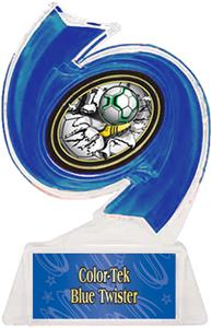 BLUE TROPHY/BLUE TWISTER LABEL/BUST-OUT MYLAR