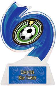 BLUE TROPHY/BLUE TWISTER LABEL/ECLIPSE MYLAR