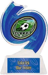 BLUE TROPHY/BLUE TWISTER LABEL/SHIELD MYLAR